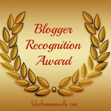 Blogger Recognition Award – Thank you!!!