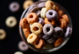 Cheerio Alphabet Food