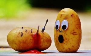 Potato Alphabet Food