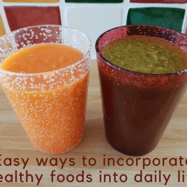 5 easy ways to incorporate healthy foods into daily life