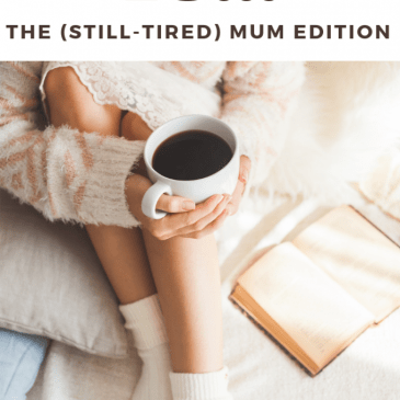 #itsok to… The (still-tired) mum edition