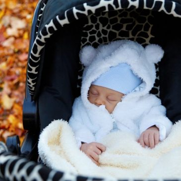 How to dress up your pushchair for colder days…
