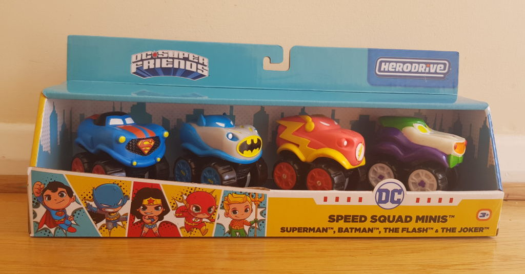 Superheroes. Cars. Speed. Let your imagination run wild! Herodrive Vehicles Review