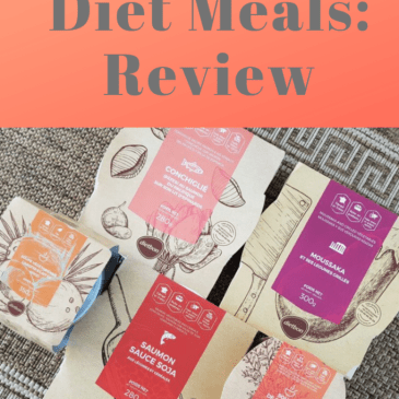 Eating healthy (and delicious) with Dietbon diet meals delivery: Review