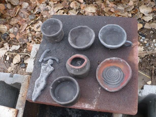 Primitive pottery