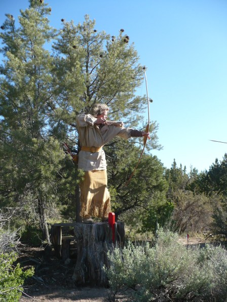 primitive archery, mountain man rendezvous,fun times
