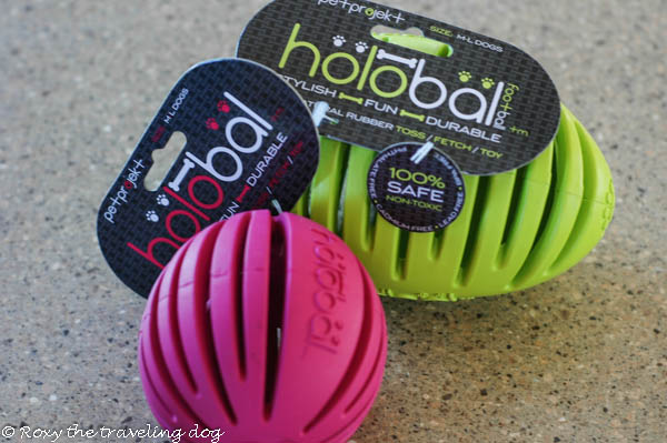 holobal review and giveaway.dog toys