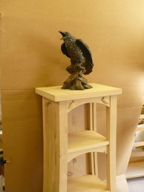 The Storyteller- on the pedestal