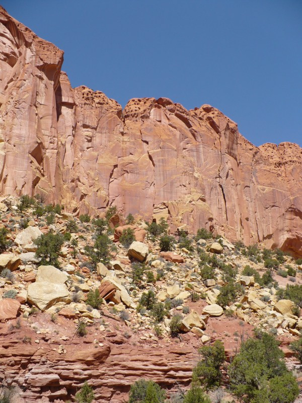 Burr trail in Utah