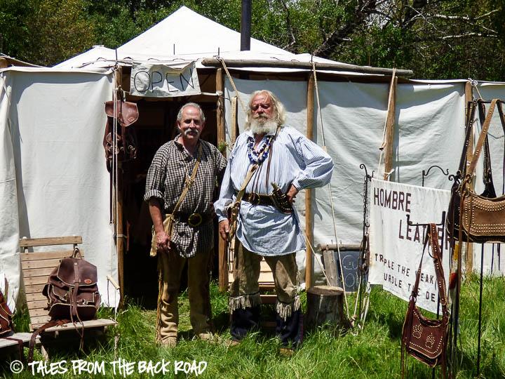 Camp Henry mountain man rendezvous, mountain men