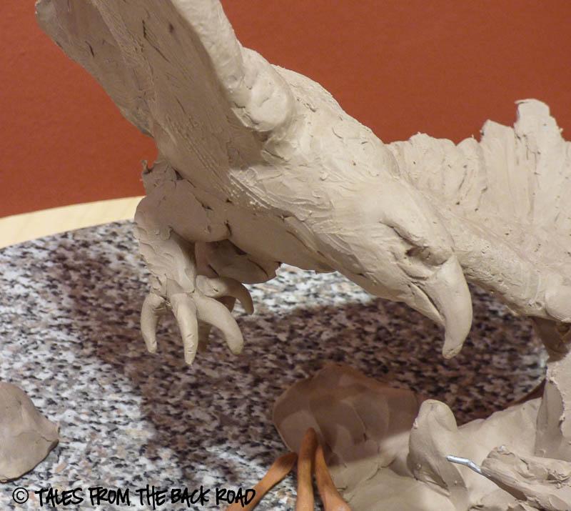 eagle sculpture getting started