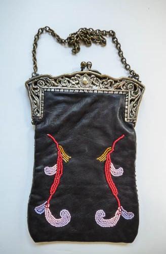 Beaded purse