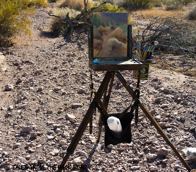 Artsy Fartsy Tuesday - New, and Music Painting in the desert