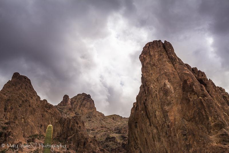 Rugged and beautiful kofa mountains