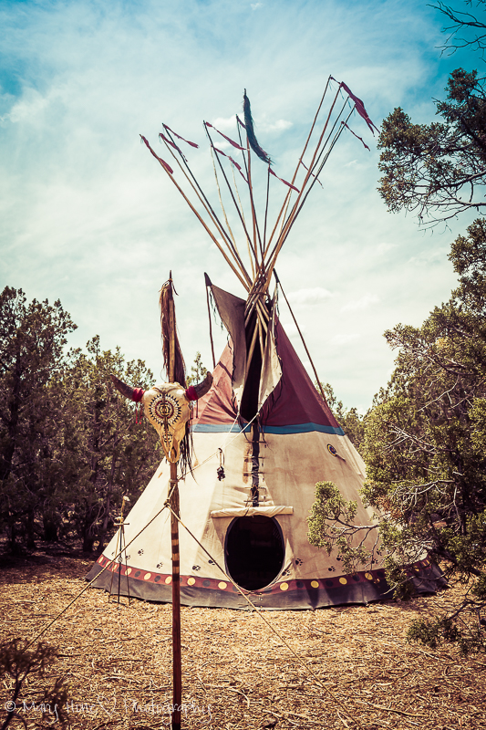 Tipi at rendezvous