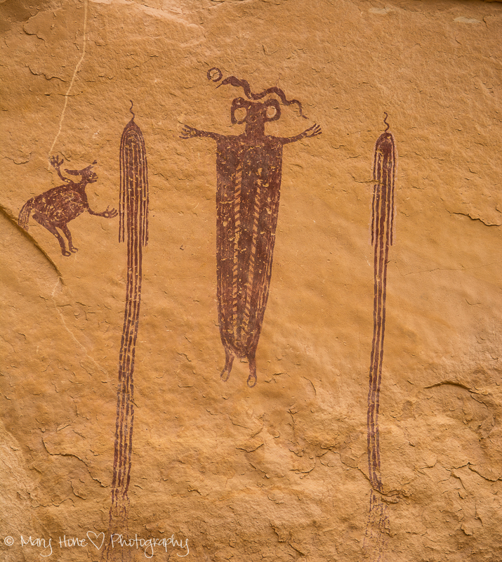 Head of sinbad pictograph