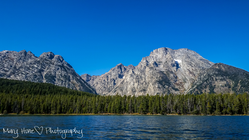 Oh, the fun we have had. Kayaking Leigh lake Grand Teton NP