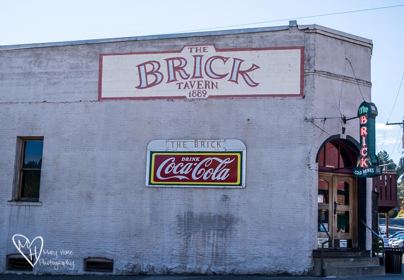 Roslyn, Washington. The Brick