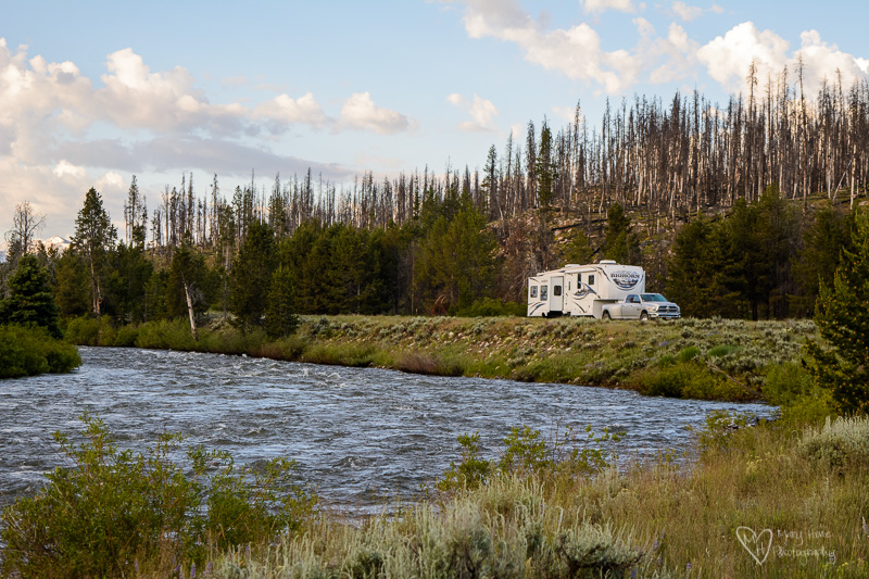 RVing on the Salmon river