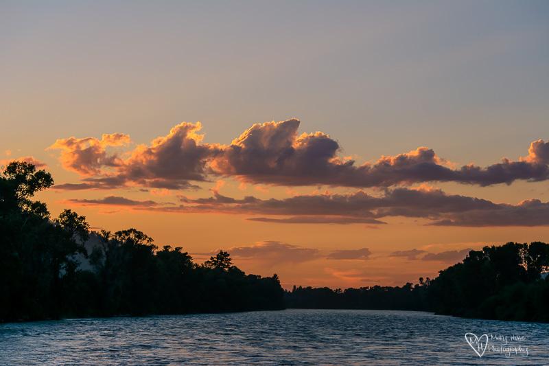 snake river at sunset