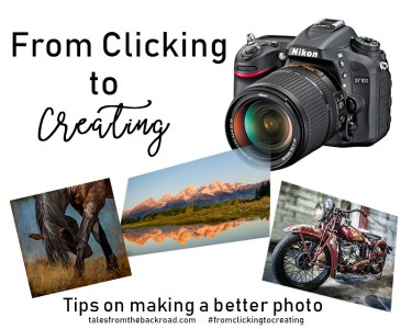 from clicking to creating