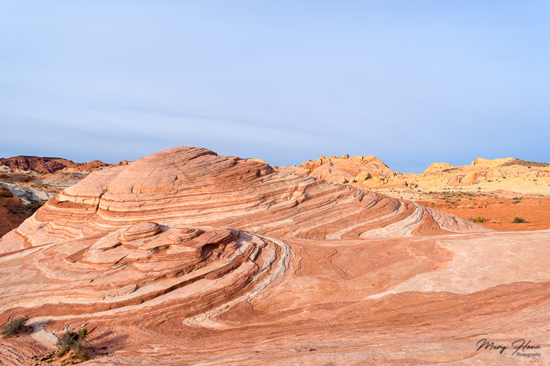 fire wave at valley of fire