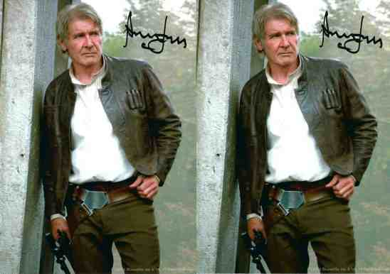 Side-by-side comparison makes these two different photos easy to identify as pre-print signatures.
