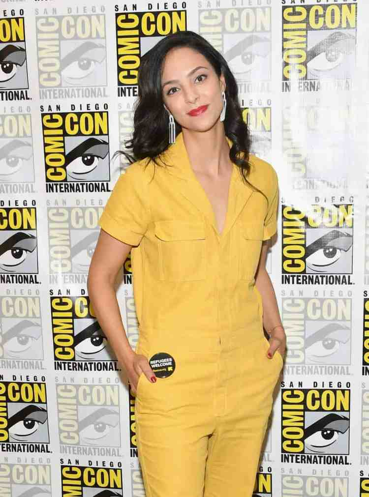"""Tala Ashe from """"DC: Legends of Tomorrow"""""""