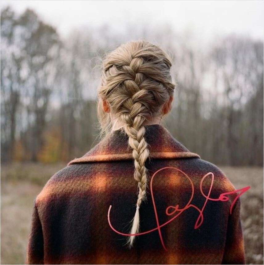 Album with Taylor Swift's Digital Signature