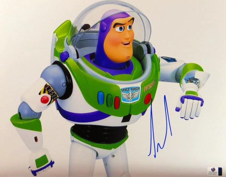 Tim Allen Autograph