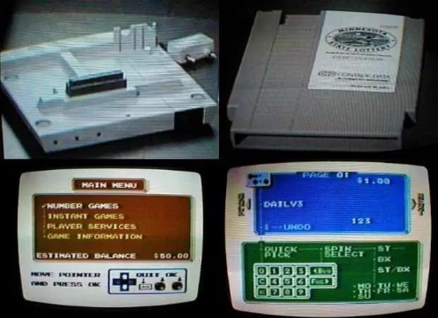 NES modem prototype