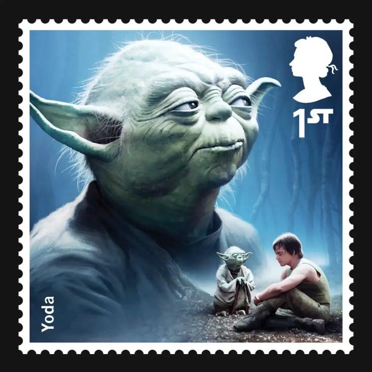 Star Wars stamp
