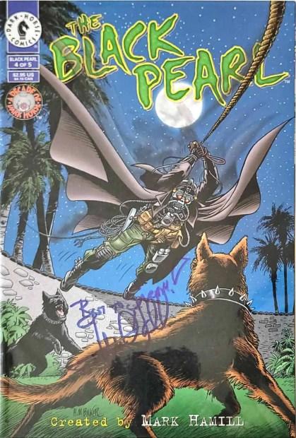 Mark Hamill signed Black Pearl Comic Book