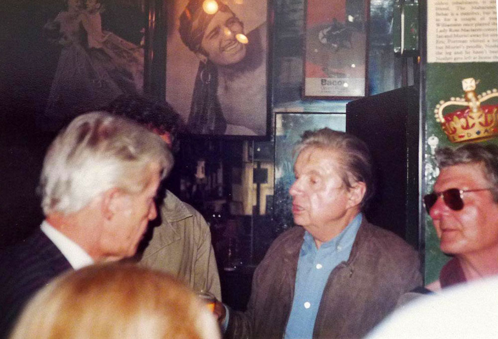 Francis Bacon, Lucian Freud and Ian Board. The Colony Room Club