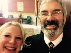 Selfie with the Chief Justice of the Montana Supreme Court… his first!
