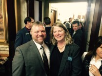Rep. Pat Noonan (Butte- D) and Rep. Andrea Olsen (Missoula- D)