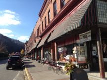 Historic downtown Bramwell, West Virginia