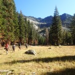 Backpacking over Labor Day, in Northern California: Friday and Saturday