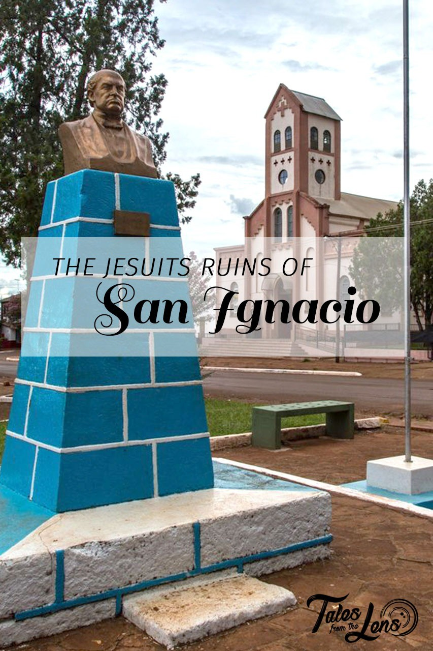 Pin It - We took a stop in the small Argentinian town of San Ignacio mini to visit the old Jesuit Ruins in the area. Not knowing much of the history we were excited to see the ruins during the night show they offered. https://wp.me/p9dhAr-8X