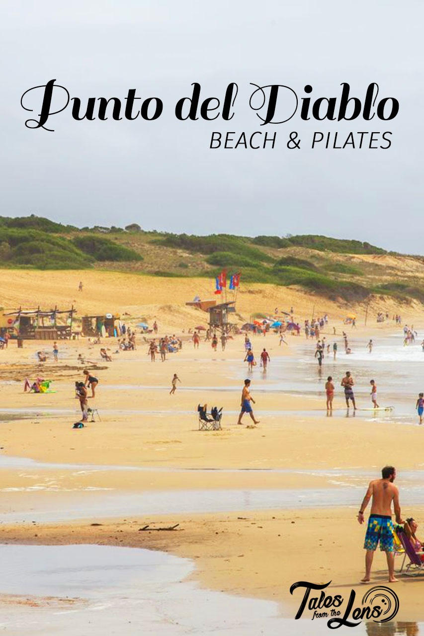 Pin It - In Punta del Diablo we enjoyed the beach when the weather wasn't miserable, got badly sunburnt, cycled through the Santa Marta National Park and were forced to change hostel twice. https://talesfromthelens.com/2017/06/25/punta-del-diablo/