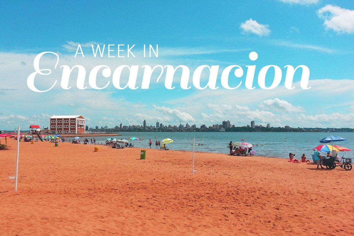 title - Encarnacion is the door to the Jesuits Ruins of Paraguay : Jesus and Trinidad. It also holds an incredible, fun and cheap Carnival and offer great beaches. Lesser explored it is a great cheap backpacker option. https://talesfromthelens.com/2017/06/03/encarnacion-paraguay/