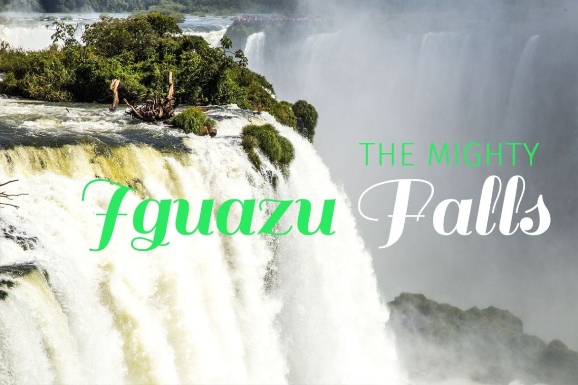 Iguazu Falls shares a border with Brazil, Argentina and Paraguay. It is only possible to visit them from Brazil and Argentina. We visited both sides in two days. The falls are sure to be on your bucket list of things to see in South America. Check out these impressive waterfalls - https://wp.me/p9dhAr-5z