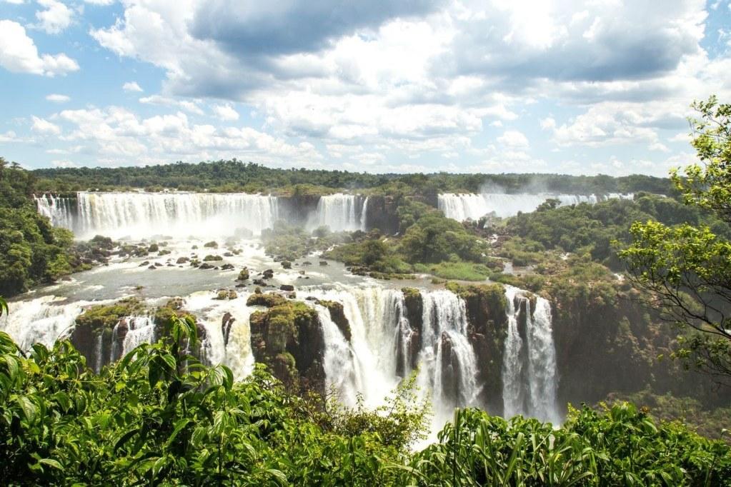 Mighty Iguazu Falls