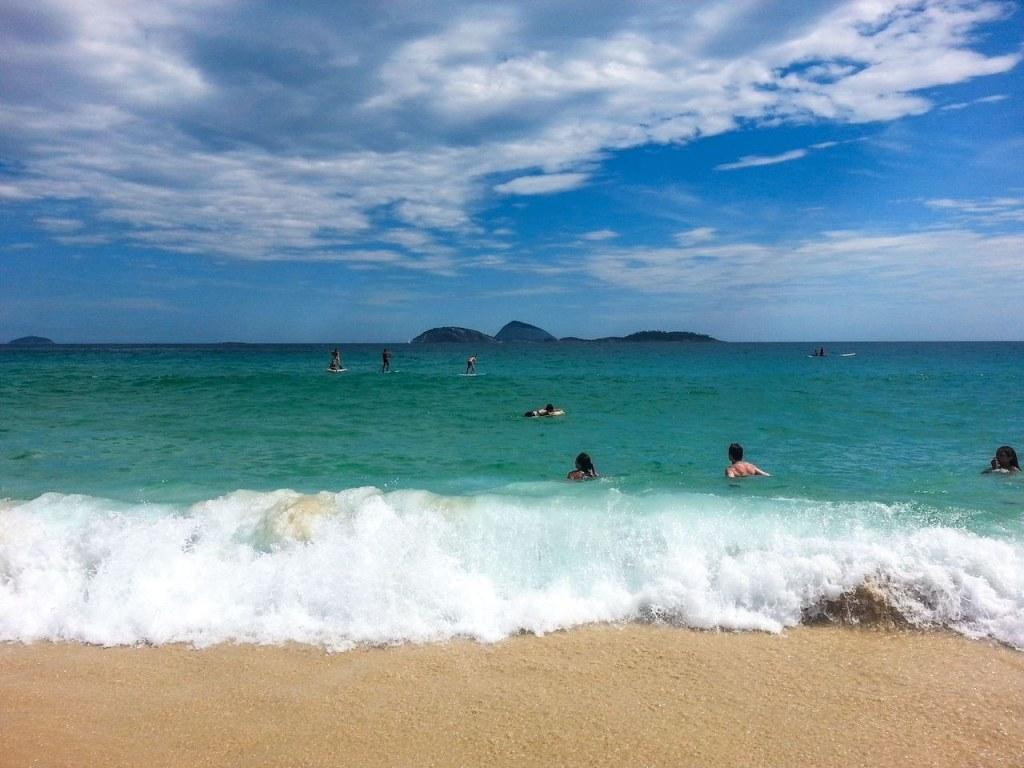 Our first hour in Rio de Janeiro…