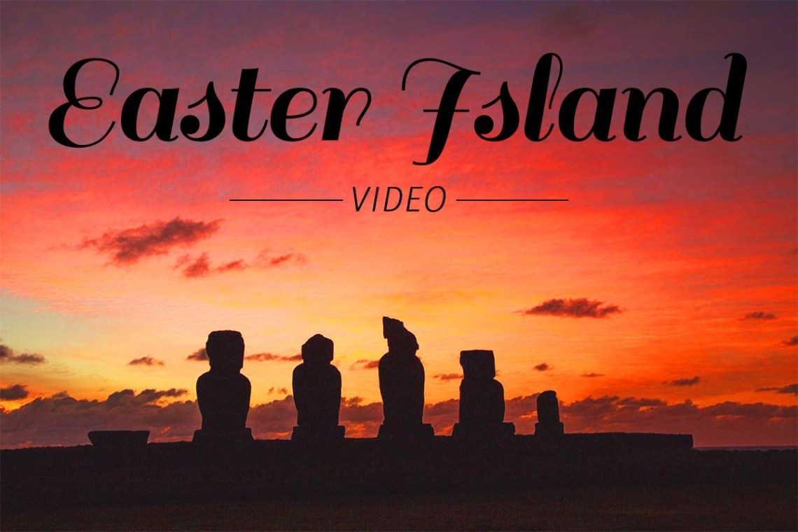 Top image - Watch our short video of our 5 days exploring Easter Island by car, foot and by bike. https://wp.me/p9dhAr-2aa