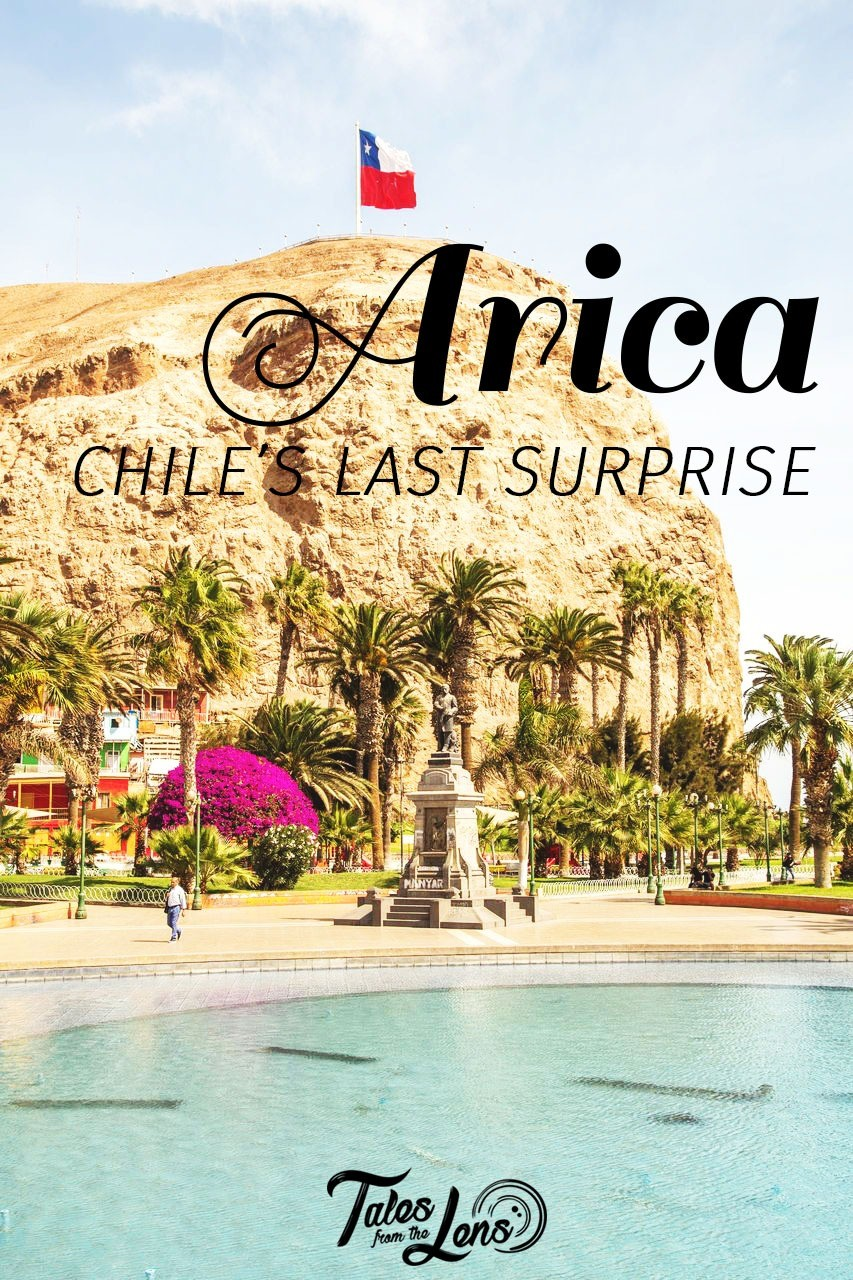 Pin It - Arica, Chile's most northernly city, on the border with Peru can be seen in two days. But why not stay a little longer and see why locals call it the land of the eternal spring. We easily fell in love with Arica and the Azapa Valley - https://talesfromthelens.com/2018/01/04/arica-chile/
