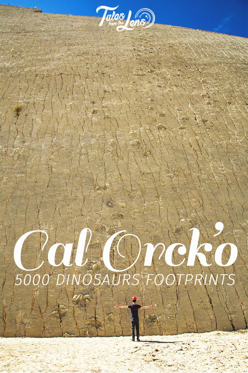Pin It - In Sucre, Bolivia, the largest collection of dinosaur footprints In the world are found. Here there are more than 5,000 prints left by 15 different dinosaurs. With a tour you can get right up to this piece of history. https://talesfromthelens.com/2018/01/18/cal-orcko-dinosaur-footprints-sucre-bolivia/