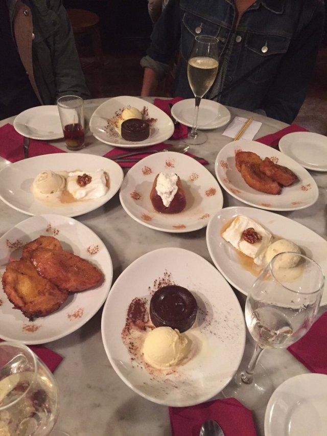 Desserts on the Tapas Food Tour - The Barcelona Taste Tour