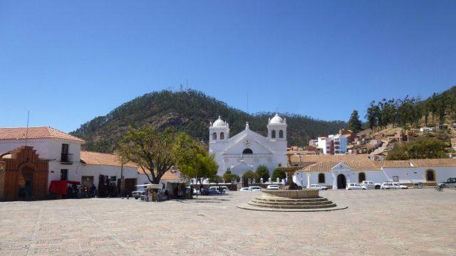 Backpacking Bolivia - Plaza de la Recoleta in Sucre