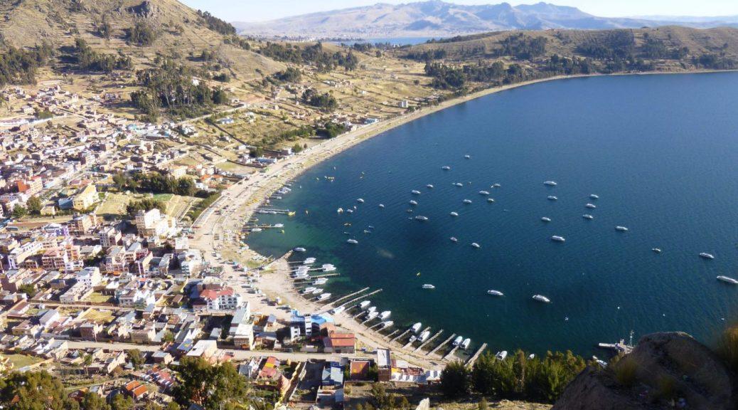 Copacabana on Lake Titicaca - Backpacking South America